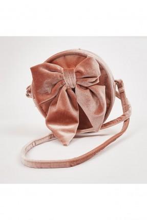 حقيبة يد اطفال بناتي مزينة ببيونة كبيرة