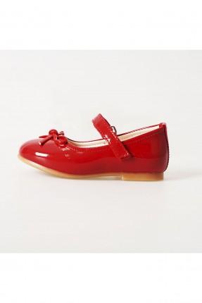 حذاء اطفال بناتي جلد لامع