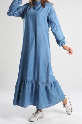 فستان نسائي جينز