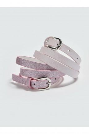حزام اطفال بناتي رفيع عدد 2
