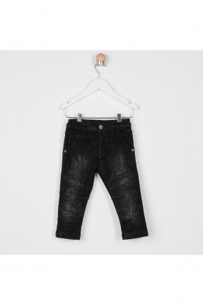 بنطال جينز بيبي ولادي حديثي الولادة بخصر مطاط