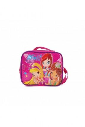حقيبة كتف اطفال بناتي بطبعة فتيات