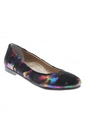 حذاء اطفال بناتي ملون - اسود