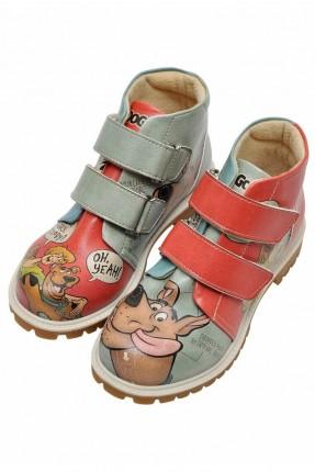 جزمة اطفال ولادي بطبعة  Scooby Doo