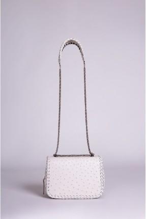 حقيبة يد نسائي بسلسلة معدنية