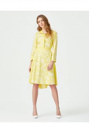فستان سبور بياقة قميص