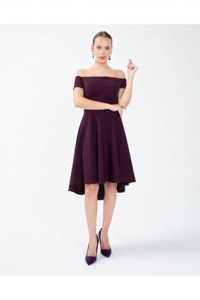 فستان سبور مكشوف الاكتاف