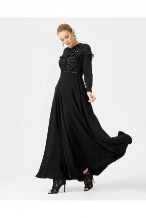 فستان رسمي طويل شيك