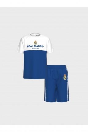 بيجاما رياضة اطفال ولادي بشعار ريال مدريد