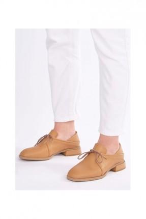 حذاء نسائي باربطة وكعب