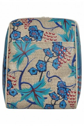 حقيبة ظهر نسائية بطبعة زهور
