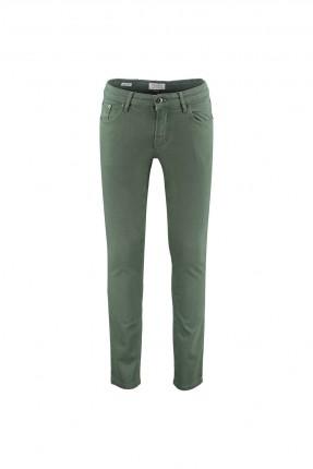 بنطال جينز رجالي سادة - اخضر