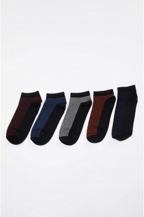 جوارب رجالية بالوان متعددة عدد 5