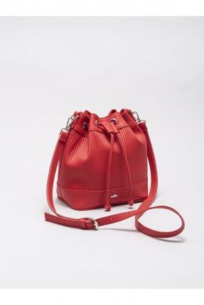 حقيبة يد نسائية مزينة برباط
