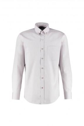 قميص رجالي مزين بجيب