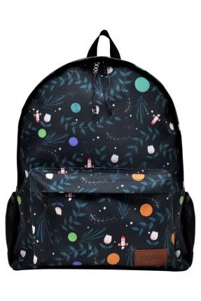 حقيبة ظهر رجالية مزينة بكواكب