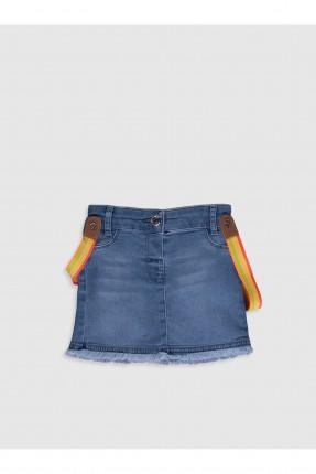 تنورة جينز بيبي بناتي بجيوب