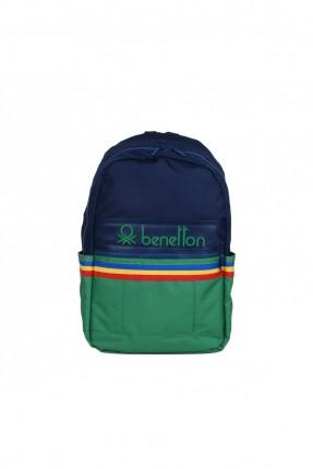 حقيبة ظهر رجالية مزينة بتفاصيل ملونة