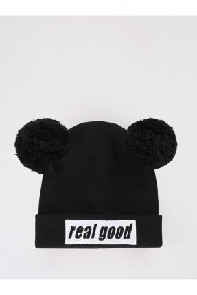 قبعة نسائية بكتابة