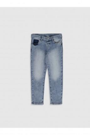بنطال جينز اطفال ولادي فاتح