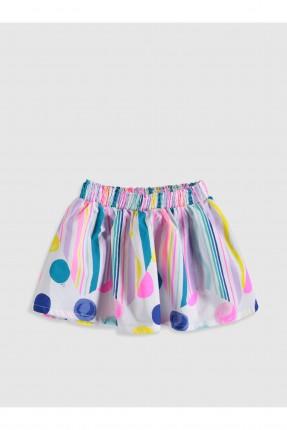 تنورة اطفال بناتي كلوش ملونة