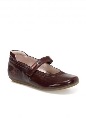 حذاء اطفال بناتي بنقشة ولاصق