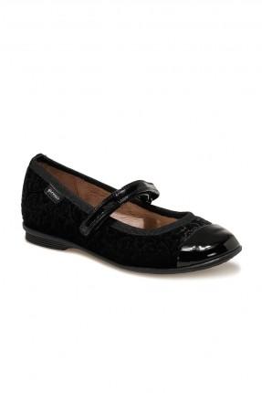 حذاء اطفال بناتي بلاصق - اسود
