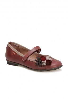 حذاء اطفال بناتي مزين بزهور