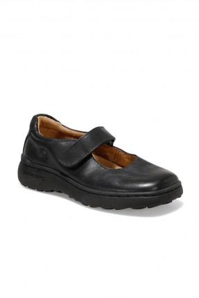 حذاء اطفال بناتي ببكلة - اسود