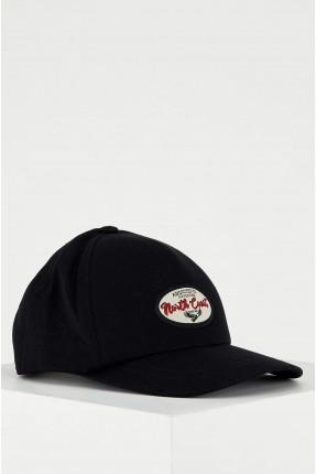 قبعة رجالية بطبعة من الامام