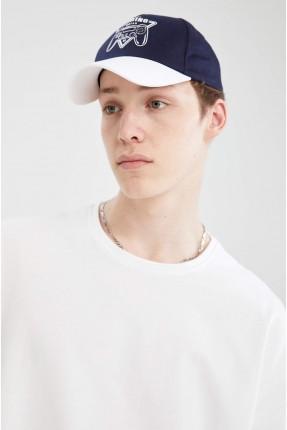 قبعة رجالية بلونين