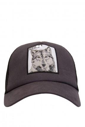 قبعة رجالية بطبعة رسمة