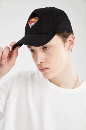 قبعة رجالية بطبعة سوبر مان