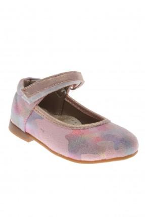حذاء بيبي بناتي مزين بنمط مموه