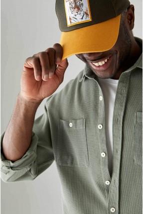 قبعة رجالية بطبعة تايجر