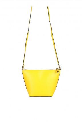 حقيبة يد نسائية سادة - اصفر