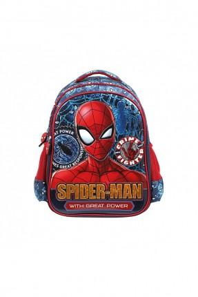 حقيبة مدرسية اطفال ولادي بطبعة سبايدرمان