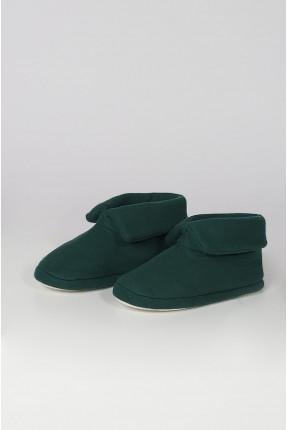 حذاء نسائي منزلي - اخضر
