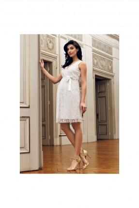 فستان رسمي حمل بتفاصيل دانتيل