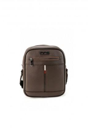 حقيبة يد رجالية بسحاب وحزام