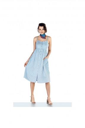 فستان حمل مخطط