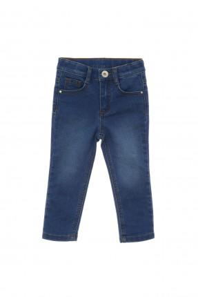 بنطال جينز اطفال ولادي بكحتة - كحلي