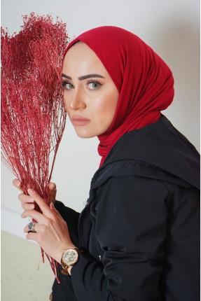 حجاب نسائي سادة اللون