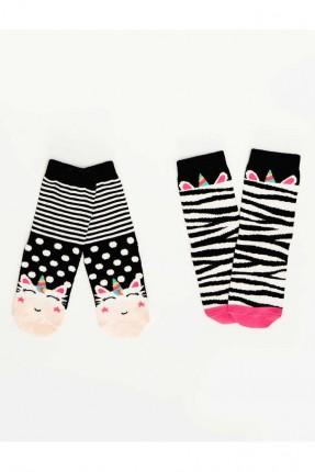 جوارب اطفال بناتي مزخرفة