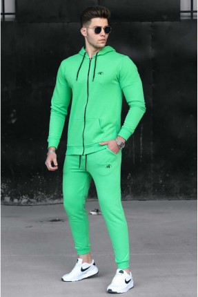 بيجاما رياضية رجالية بكابيشون - اخضر