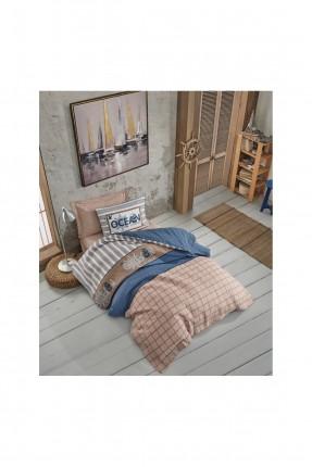 طقم غطاء سرير فردي مبطن