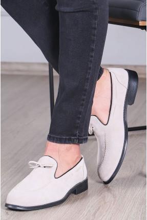 حذاء رجالي شامواه - بيج