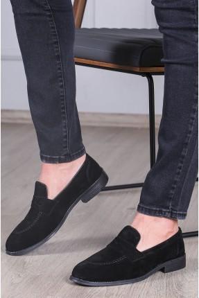 حذاء رجالي شامواه - اسود