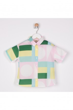 قميص اطفال بناتي ملون