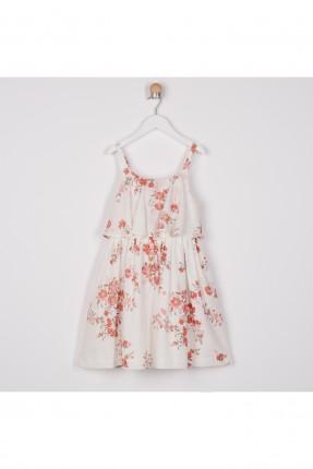 فستان اطفال بناتي بنقشة زهور